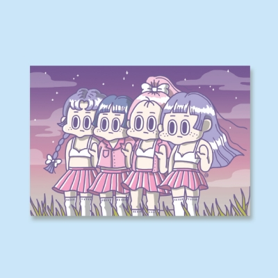 [LEEGONG] 엽서 - GIRL STUDENT 2