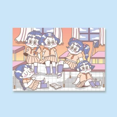 [LEEGONG] 엽서 - GIRL STUDENT 3