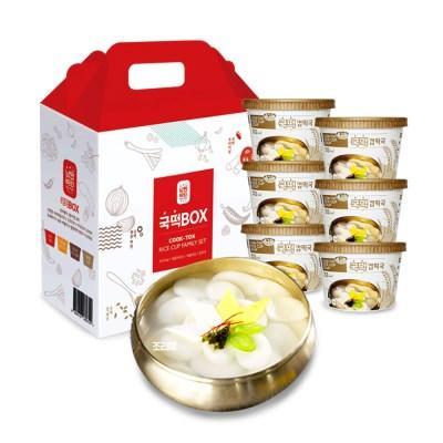 국떡 컵떡국 선물박스6EA