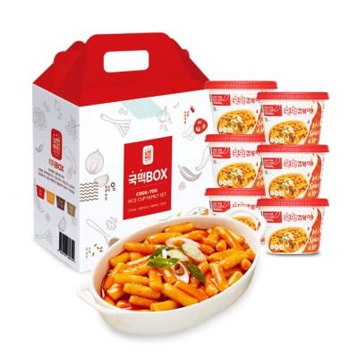 국떡 컵볶이 오리지널 선물박스6EA
