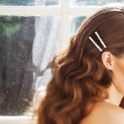 [하우즈쉬나우] Frozen Star, Swarovski Cubic Zirconia Hair Pin