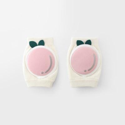 [메르베] 복숭아 유아 아기무릎보호대_(1106530)