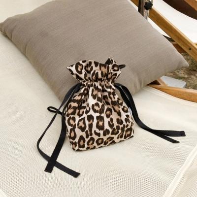 레오파드 크로스백 Leopard crossbag - Brown