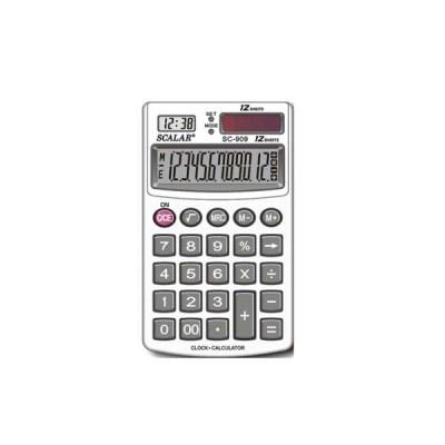 스칼라계산기 SC-909 12자리 시계기능