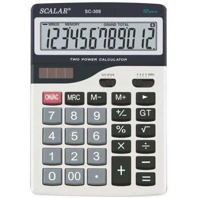 스칼라계산기 SC-308 대형계산기/12자리 가감승제표시