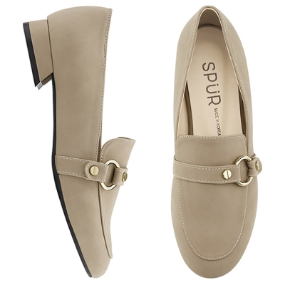 SPUR[스퍼] 로퍼 MF7015 Ring belt loafer 베이지
