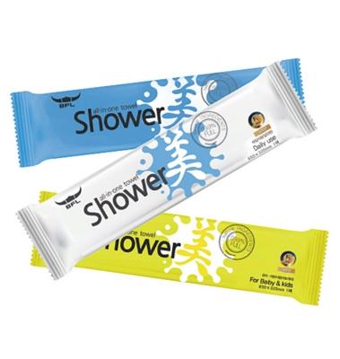 버팔로 샤워미 웻타월 1회용 샤워타올 워터타월 대형물티슈