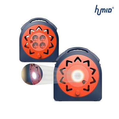 휴미드 4구 30M LED 전기릴선