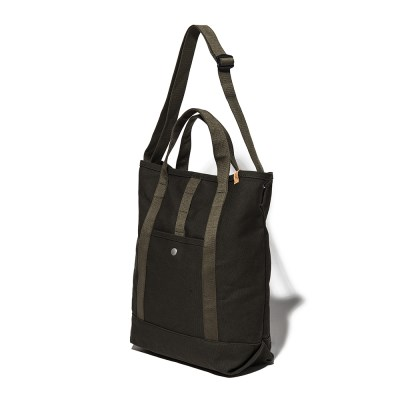 CANVAS 2WAY TOTE BAG - KHAKI_(1113911)