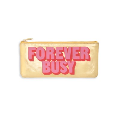 GET IT TOGETHER PENCIL POUCH - FOREVER BUSY (펜슬 파우치)