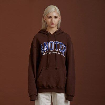 A NOTER HOODY_(brown)