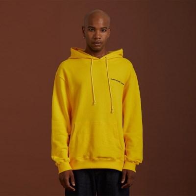 NEEDLEPOINT HOODY_(yellow)