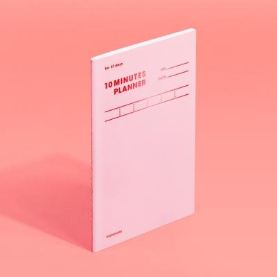 [모트모트] 텐미닛 플래너 31DAYS 컬러칩 - 로즈쿼츠