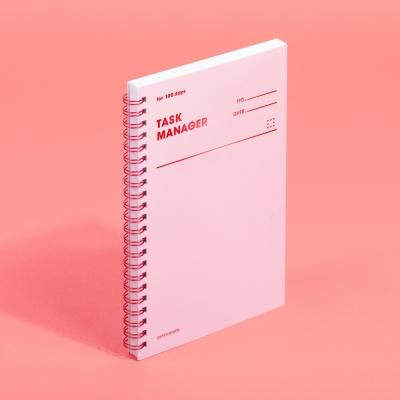 [모트모트] 태스크 매니저 100DAYS 컬러칩 - 로즈쿼츠