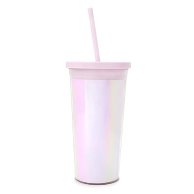SIP SIP TUMBLER WITH STRAW - PEARLESCENT (빨대 텀블러)