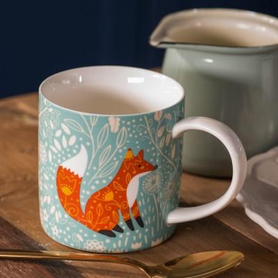 [울스터위버스] 여우(Foraging Fox) 머그 컵