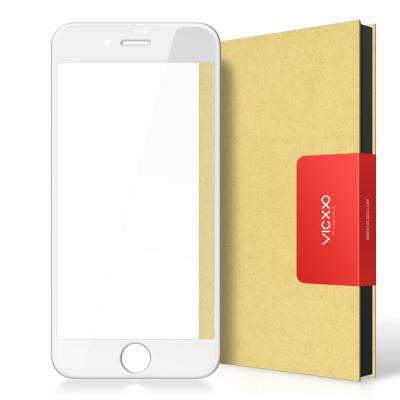 아이폰8 풀커버 강화유리 액정보호 필름 화이트