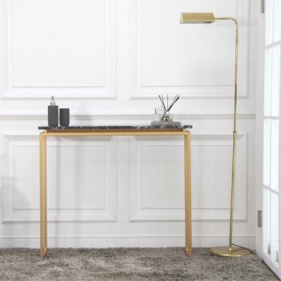 아르마블 올슨 대리석 1단 콘솔 테이블