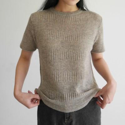 Delicate weaving wool knit