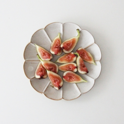 flower series - plate (3size)