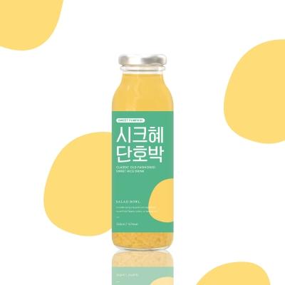 향이진한 단호박식혜! 시크혜단호박 245ml 1박스(10병)