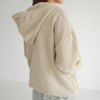 String point hood zip-up