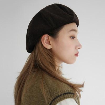 Groovy corduroy beret