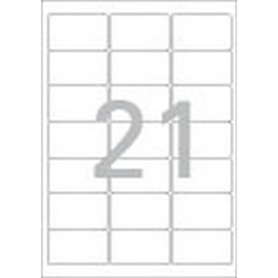 주소용 라벨(LS-3105/100매/21칸/폼텍)_(13303870)