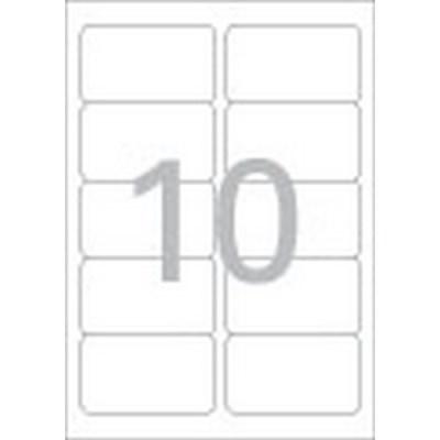 분류표기용 라벨(LS-3510/100매/10칸/폼텍)_(13303873)