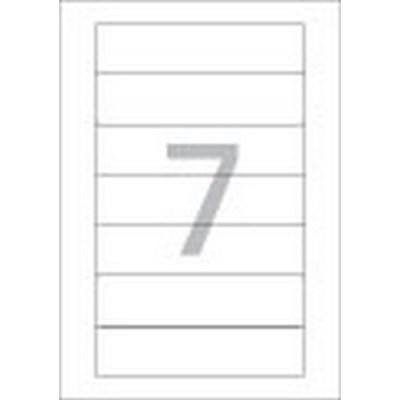 화일인덱스용 라벨(LS-3625/100매/7칸/폼텍)_(13303883)