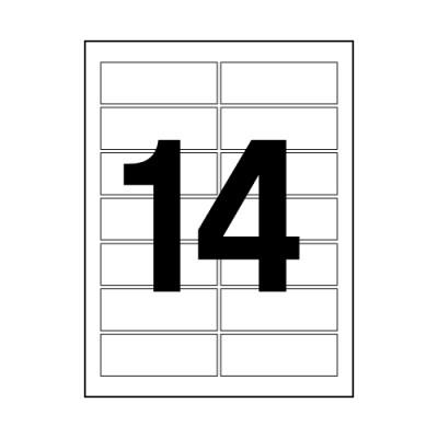 오피스라벨(14칸/100매/OfficeDEPOT)_(13303826)