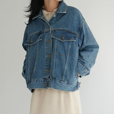Unisex casual denim jacket