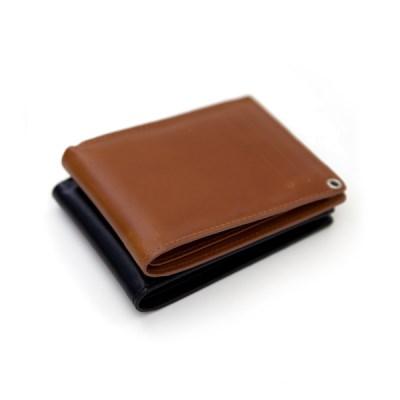 프로디아  클래식 소가죽 반지갑 목걸이 카드지갑