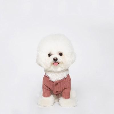 Maple knit cardigan (Pink bric)