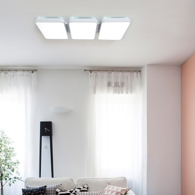 LED 심플 거실 6등 150W