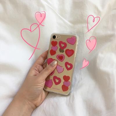 [뮤즈무드] heart crush (clear) 아이폰케이스