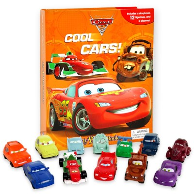 Disney Pixar Cars 2 : My Busy Books 피규어북