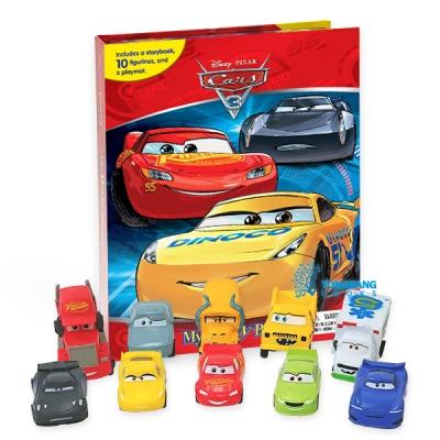 Cars 3 : My Busy Books 피규어북
