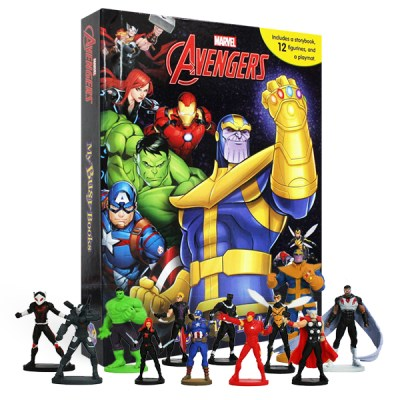 Marvel Avengers Infinity War : My Busy Books 피규어북