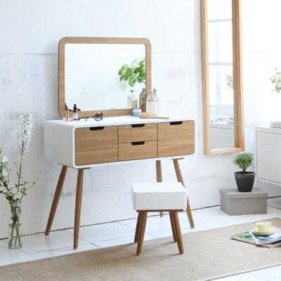 클라스 콘솔세트(화장대+거울+의자)