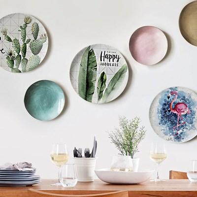 우드로하우스 접시액자 2P세트 북유럽 인테리어 소품 벽