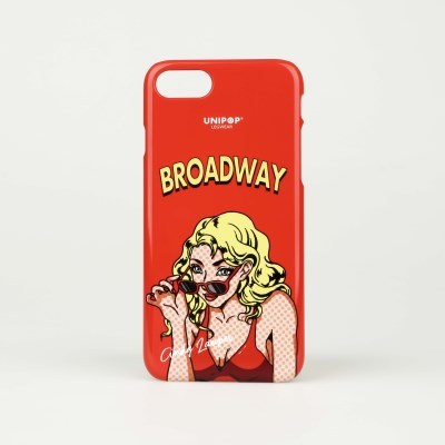 Broadway iPhone case - Red