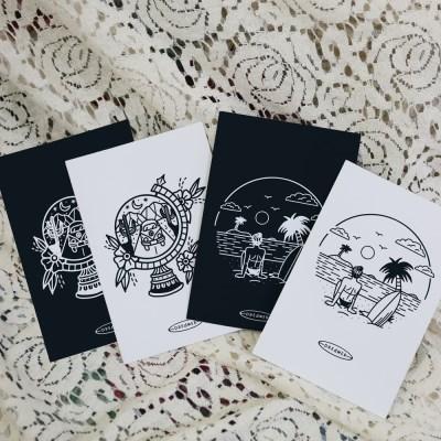 [YOYO] Traveling - Postcard
