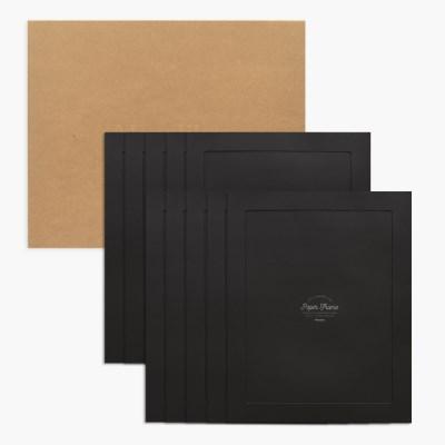 11x14 포토프레임 스토리지 박스세트  - 블랙 10매