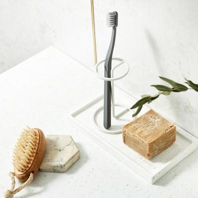 SUIT 욕실 와이어 칫솔꽂이(원형)