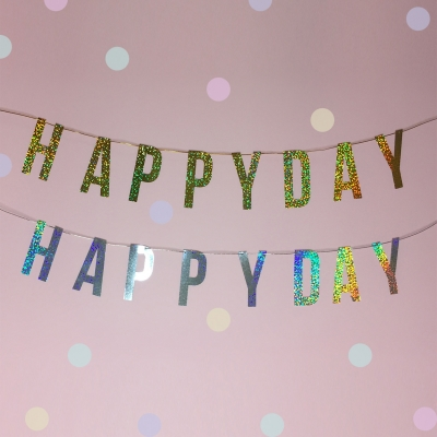 PP GARLAND - HAPPY DAY