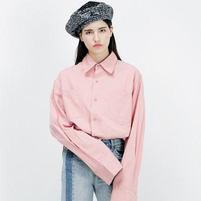 아더로브 더블포켓 오버핏 셔츠 AST183001-PK