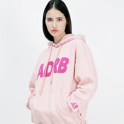 아더로브 ADRB LOGO 오버핏 후드티 AHD183001-PK