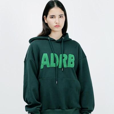 아더로브 ADRB LOGO 오버핏 후드티 AHD183001-GN