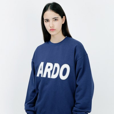 아더로브 ADRB LOGO 오버핏 맨투맨티 ACR183001-NV